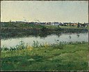 Frederic Porter Vinton - The River Loing at Gréz, France - 11.1388 - Museum of Fine Arts.jpg