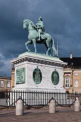 Frederik V à cheval