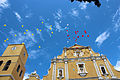 Frente a la Iglesia de La Candelaria.JPG