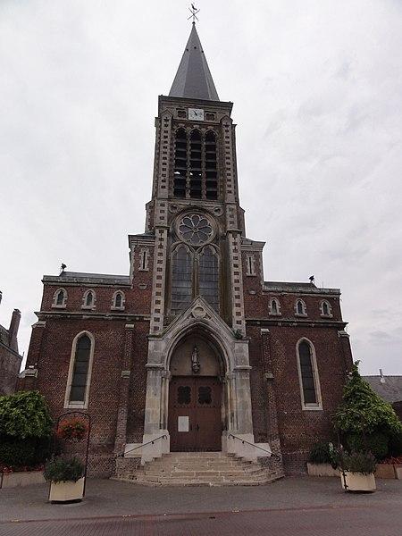 Fresnoy-le-Grand (Aisne) église
