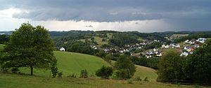 Siegerland - Landscape near Freudenberg (Siegerland)