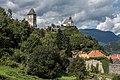 Friesach Petersberg Burg und Peterskirche SO-Ansicht 04092017 0716.jpg