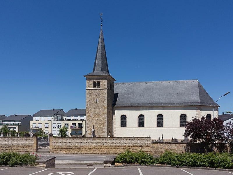 Frisange, church