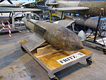 Fritz-X bomb at the Treloar Technology Centre Sept 2012.JPG