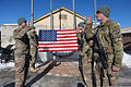 From right front, U.S. Army Sgt. Alexander Maclachlan, Sgt. Anthony Corrado, and Cpl. Joshua Power, all assigned to Bravo Troop, 3rd Squadron, 71st Calvary Regiment, 10th Mountain Division, repeat the oath 140102-A-RU942-053.jpg