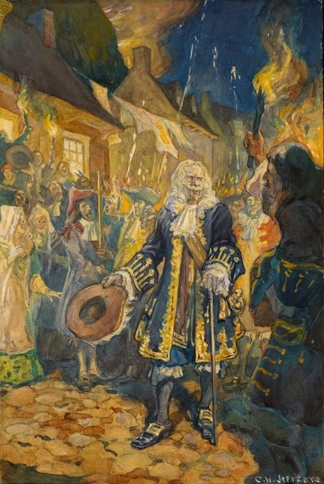 Frontenac revient à Québec en 1689