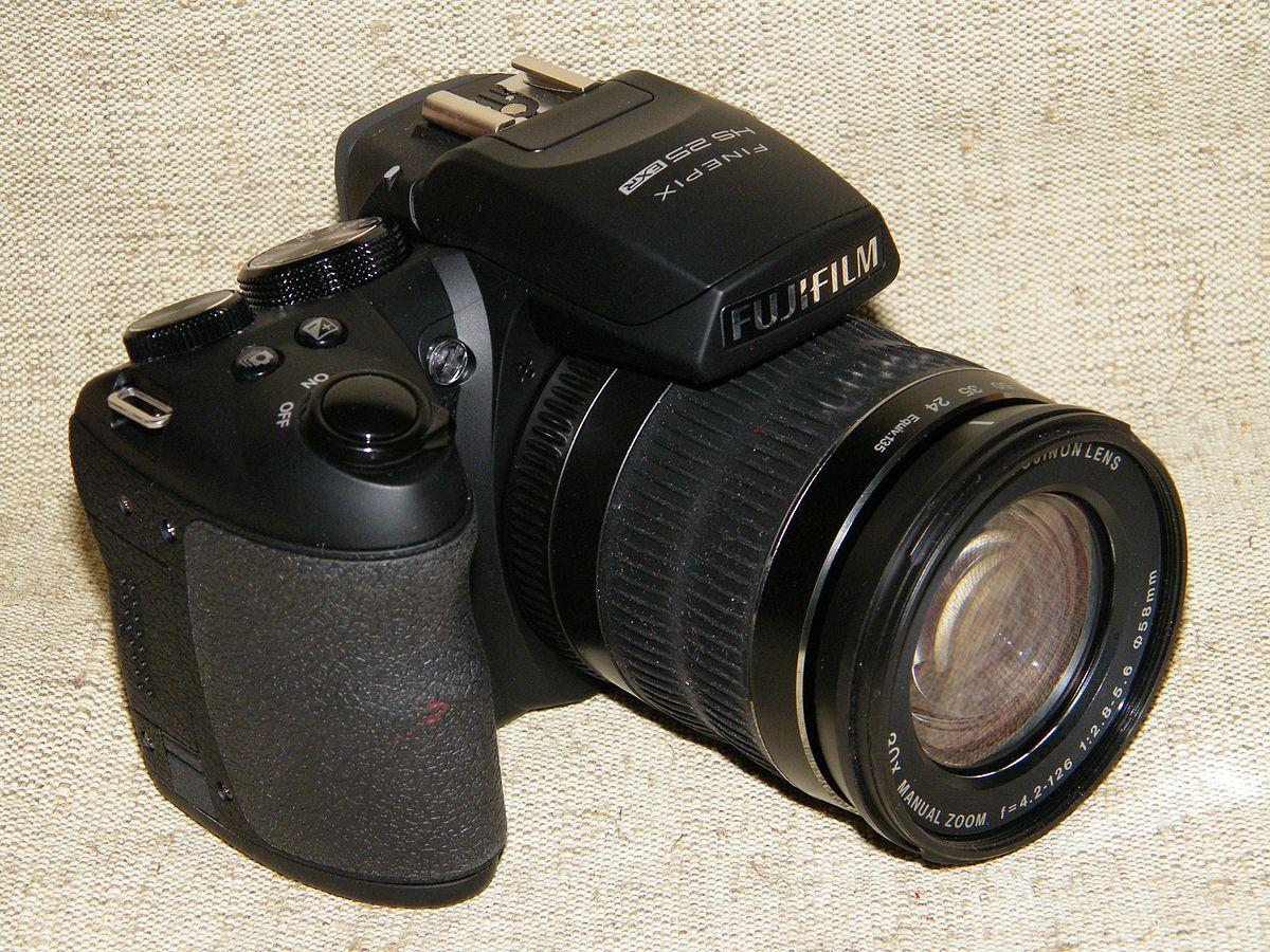 fujifilm finepix hs30exr wikipedia rh en wikipedia org Fuji FinePix HS25EXR Digital Cameras Accessories FinePix HS25EXR Manual