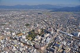Fukui city aerial 03