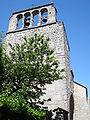 Génolhac (Gard, Fr), l'église avec son clocher-mur.JPG