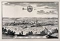 Göttingen, Germany; panorama and key. Reproduction of a line Wellcome V0012676.jpg
