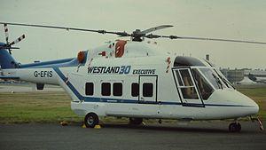Westland 30 - A Westland 30 in 1984