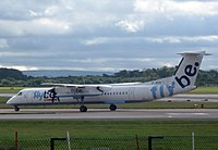 G-JECK - DH8D - Flybe