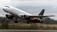G-POWK - A320 - Titan Airways