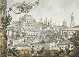 G.Quarenghi - Views of Moscow and its Environs - Terem Palace in the Moscow Kremlin - 1797.jpg