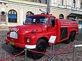 """GCBA 6,6 32 Tatra 138 Karosa from Muzeum Ratownictwa during """"Straż pożarna wczoraj i dziś"""" exhibition on Jeziorańskiego square in Kraków 1.jpg"""