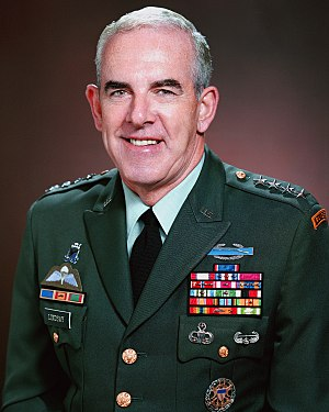 United States Special Operations Command - General James Lindsay the first Commander in Chief, Special Operations Command