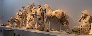 Αετώματα ναού Δία στην Ολυμπία