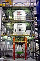 GSLV-F09 Liquid Stage at Stage Processing Facility.jpg