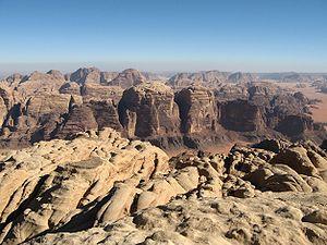 Wadi Rum - Image: Gabel Rum 01 ST 07