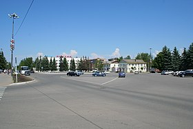 Gagarin town - Central square.jpg