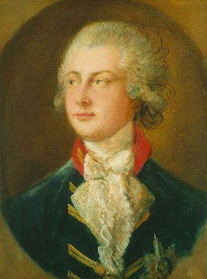 1782 in art - Image: Gainsborough George IV Prince of Wales, 1782