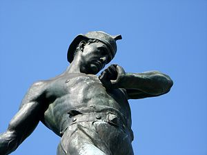 Galusha Pennypacker - The Galusha Pennypacker Statue located off the north east side of Logan Square, Philadelphia, PA. Created by Charles Grafly, Albert Laessle, in 1934.