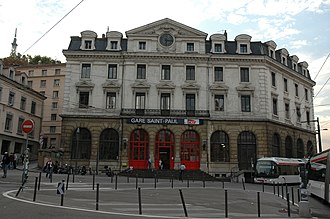 Saint-Paul (Lyon) - Image: Gare St Paul Lyon