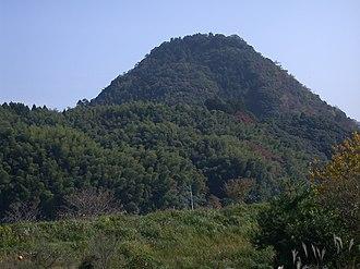Mōri Motonari - The mountaintop where Gassan Toda Castle used to stand