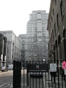 Gate of Senate House, University of London, UK - 20120523.jpg