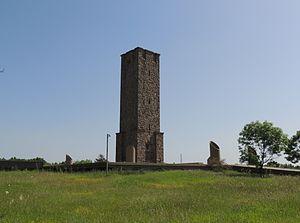 Gazimestan - Gazimestan monument