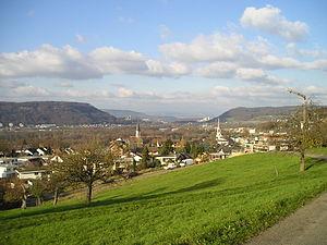 Gebenstorf - View of Gebenstorf from North