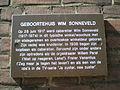 Gedenkplaat Wim-Sonneveld Jan-Pieterszoon-Coenstraat-84 Utrecht Nederland.JPG