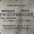 Gedenkstein für Mathilde und Erich Frischwasser 2.JPG
