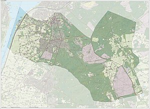 Ermelo - Dutch Topographic map of Ermelo, June 2015