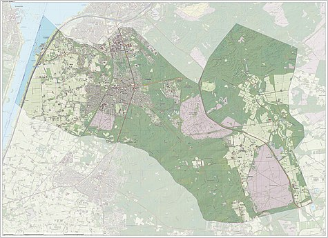 Dutch Topographic map of Ermelo, June 2015
