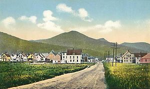 Lincoln, New Hampshire - General view c. 1915