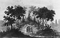 General Washington's Tomb at Mount Vernon (Copy after Engraving in The Port Folio Magazine, 1810) MET ap42.95.44.jpg