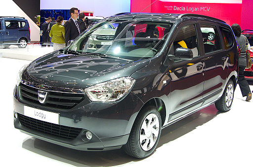 Geneva MotorShow 2013 - Dacia Lodgy