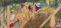 平安時代には平安京に都が置かれ、安定した貴族生活を背景に国風文化が成立した。