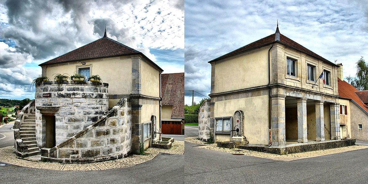 Mairie-lavoir de Gennes (Inscrit)
