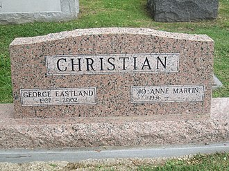 George Christian (journalist) - George Christian grave at Texas State Cemetery in his native Austin, Texas
