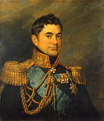 Portrait of Pyotr M. Volkonsky (1776-1852) (replica of the 1823 portrait)