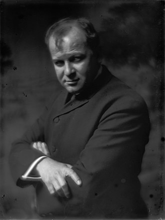George Luks - Gertrude Käsebier, George Luks, c. 1910