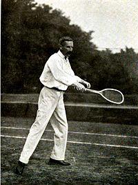 George whiteside hillyard, making a forehand.jpg