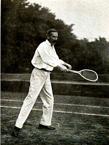 George whiteside hillyard, making a forehand.jpg