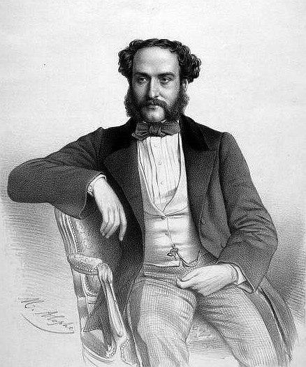 Georges Mathias par Marie-Alexandre Alophe