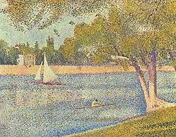 Georges Seurat: The Seine at La Grande Jatte