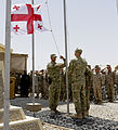 Georgian Flag Lowering Ceremony 140715-M-OM358-088.jpg