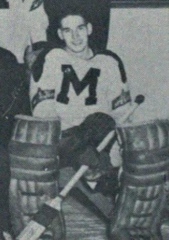 Gerry McNamara (ice hockey) - at St. Michaels College, c. 1954