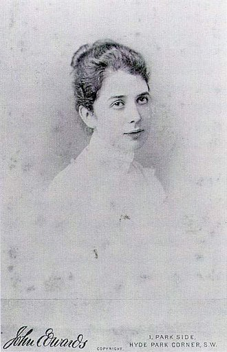 Lady Agnew of Lochnaw - Gertrude Vernon at the time of her engagement.